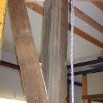 CORNER BRACKET FOR ROOF HAD TO BE CUT WITH AN ANGELED GROVE