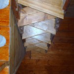 ALTERNATING STEPS FOR STEEPER STAIR