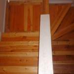 stair in townhouse