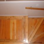square landing oak, pine and spf nosing