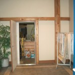 FIREDOOR TO SHOP ALL WALLS 5/8 DRYWALL AND ROXULL INSULATION