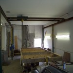 DOWSTAIRS SHOP 5/8 DRYWALL ALL AROUND