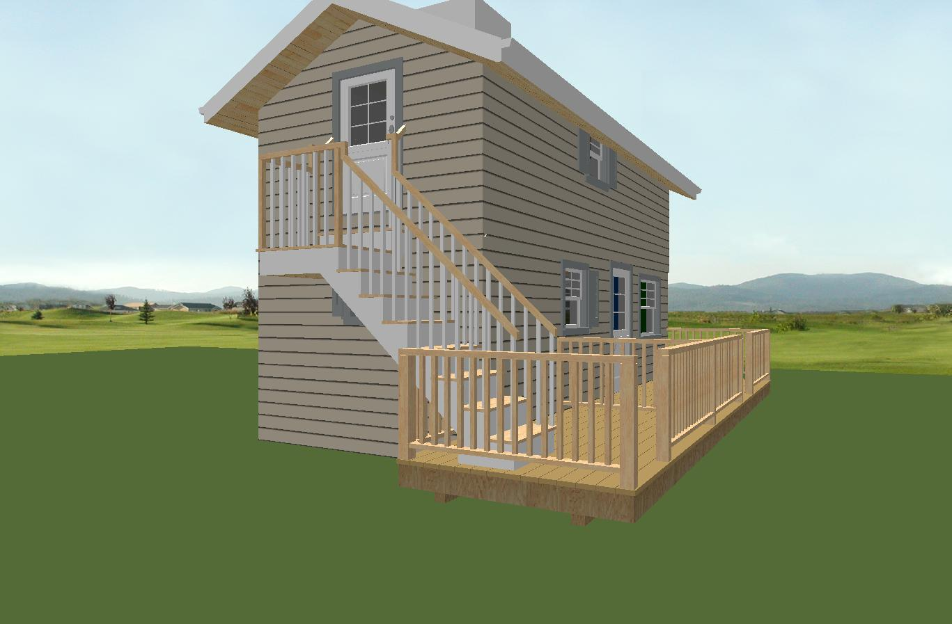 2 unit 2storey.plan outside (2)